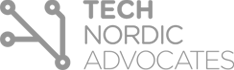 Tech Nordic Advocates grey logo