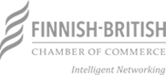 Finnish British Chamber of Commerce grey logo