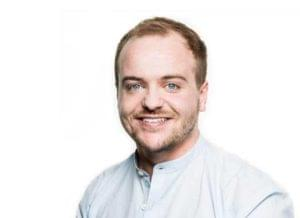 James Service marketing manager at Goodwille professional headshot