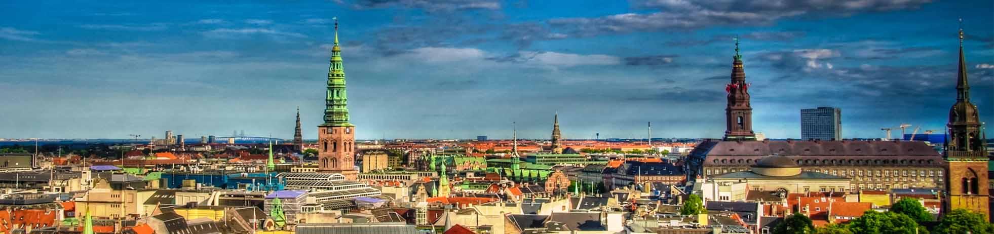 Denmark skyline landscape