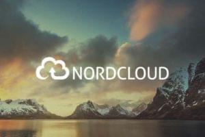Nordcloud logo overlayed on a European landscape