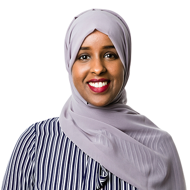 Professional headshot of Ikram Salad