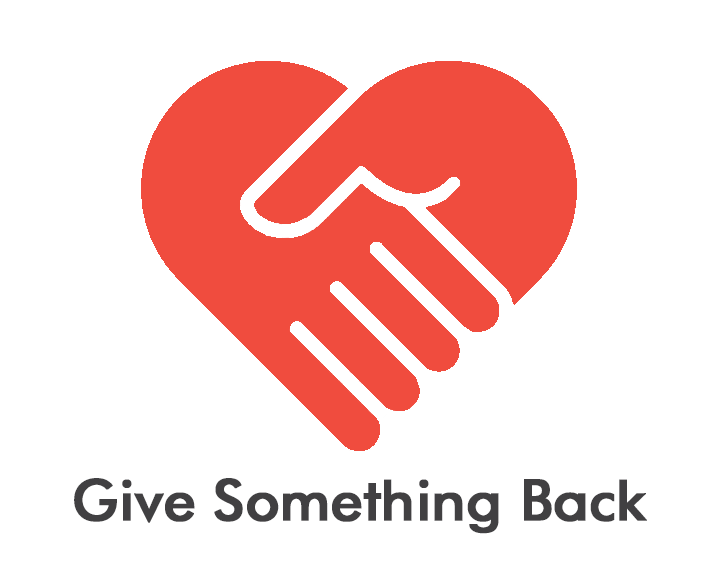 Charity day give something back icon