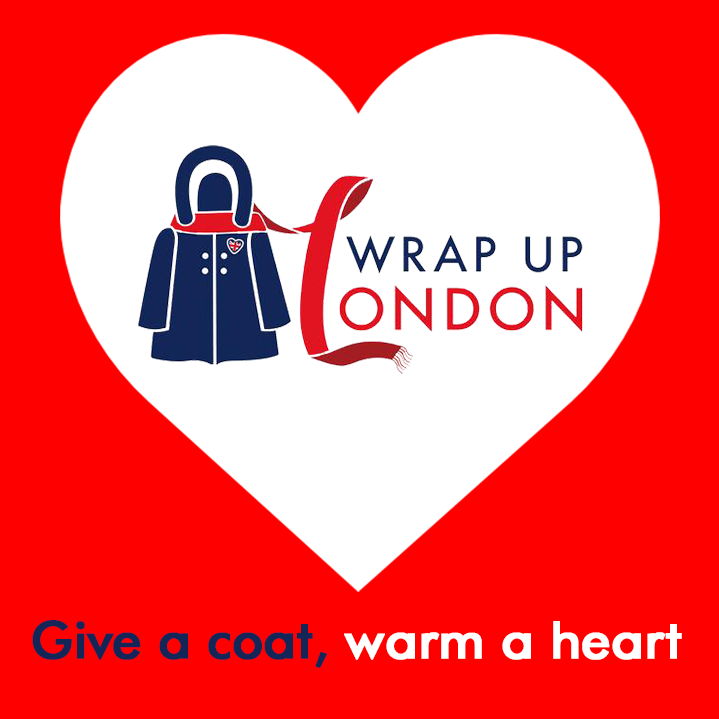 Wrap up London large logo image with text