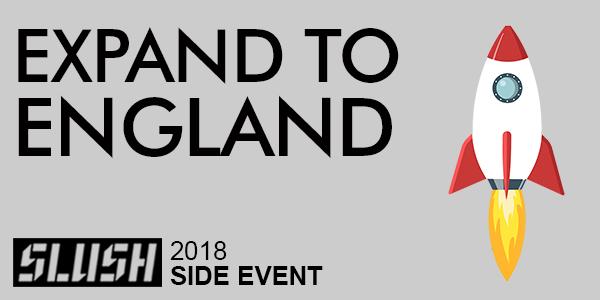Slush side event expand to England logo clipped