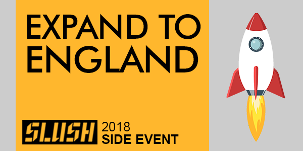 expand to england slush 2018