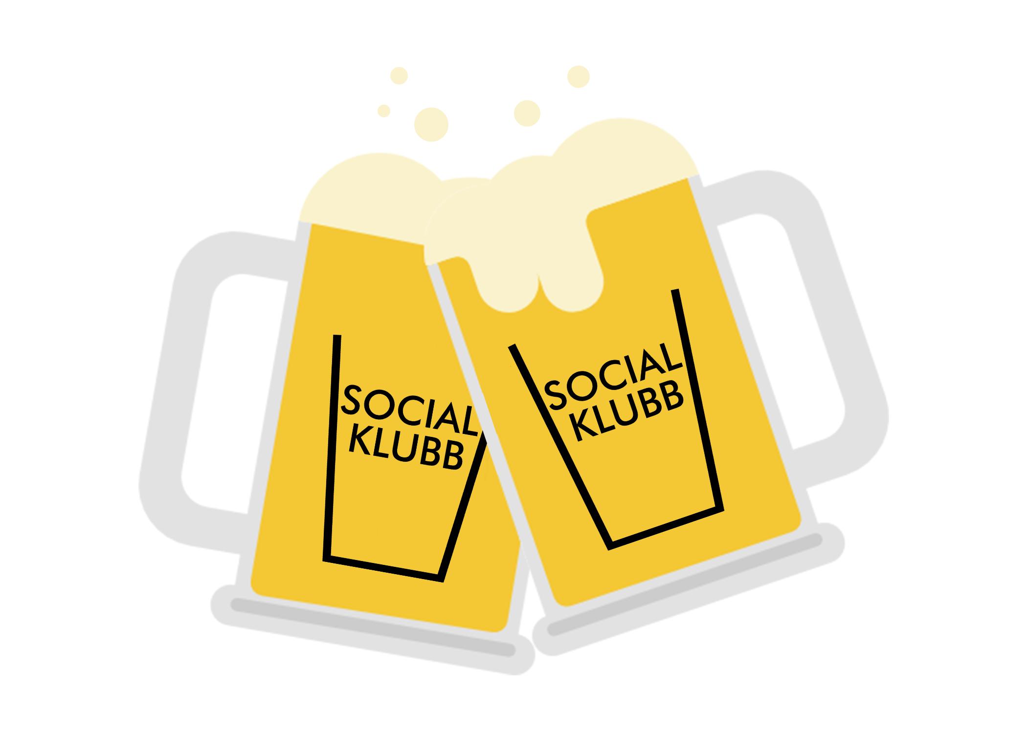 social klubb cheers beers employee perk benefit
