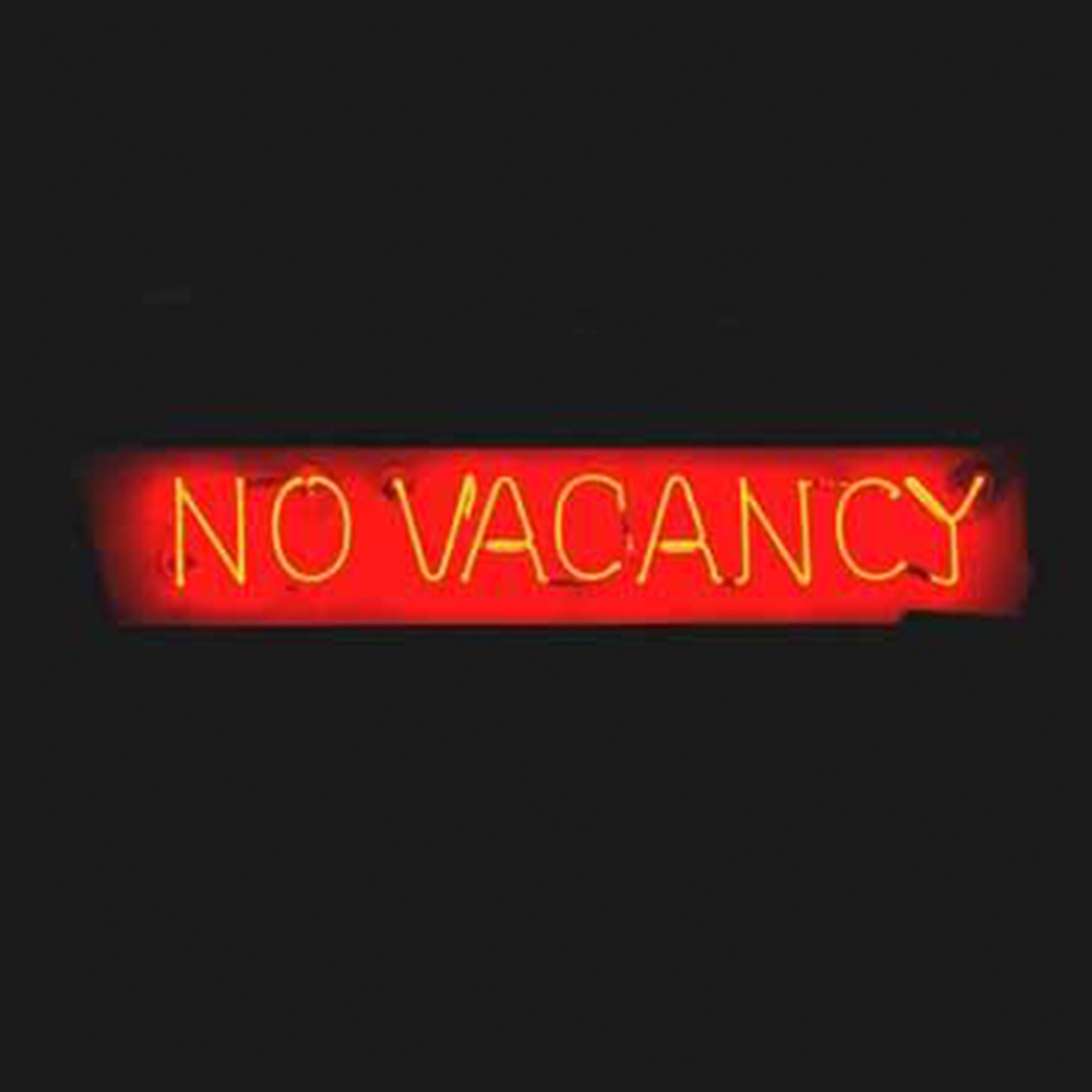 No Vacancy Open Application