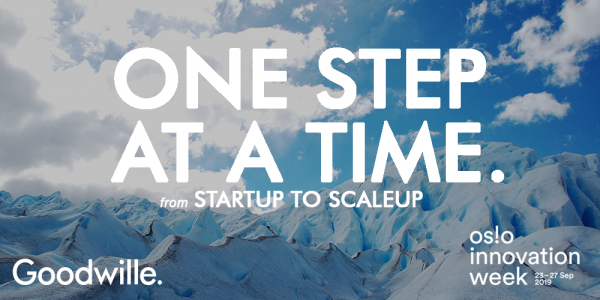 One step at a time Oslo Innovation Week 2019 event