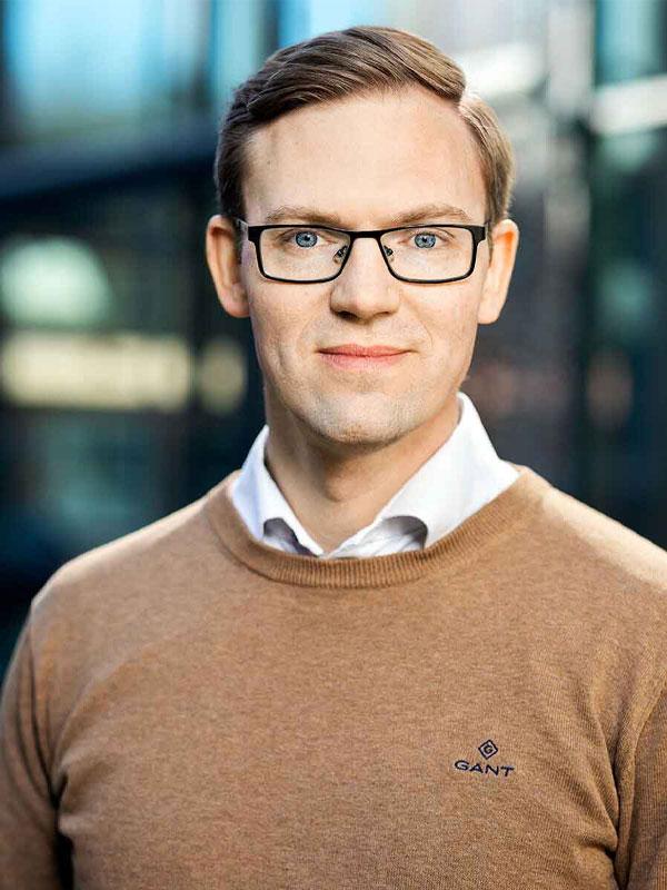 Johan Gustafsson, CEO of Visiba Care