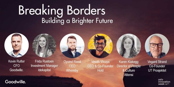 Oslo Innovation Week Event Breaking Borders