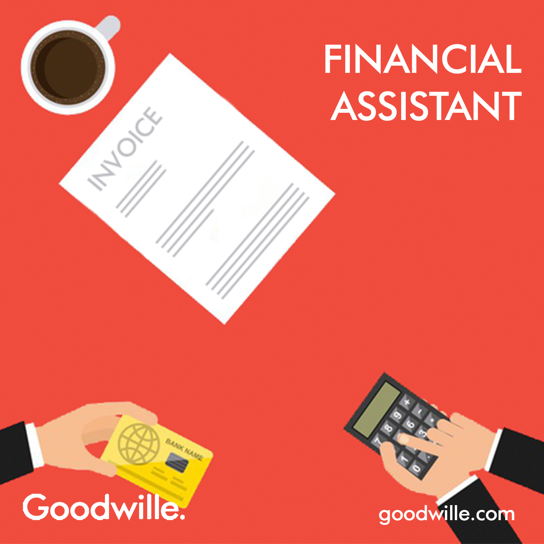 Financial Assistant Job Ad London Warwick
